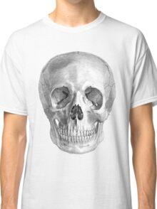 Albinus Skull 01 - Back To The Basic - White Background Classic T-Shirt