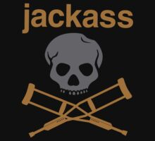 Jackass Skull Navy Knoxville by Ngandeyar
