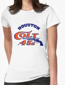 Houston Colt 45s Baseball Retro Womens Fitted T-Shirt