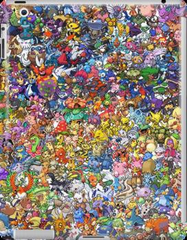 Got too much pokemon in my pocket by Chefoeuvre