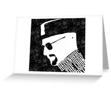 Heisenberg / Breaking Bad Greeting Card