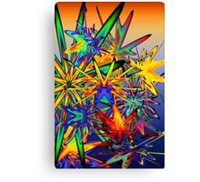 splat attack Canvas Print