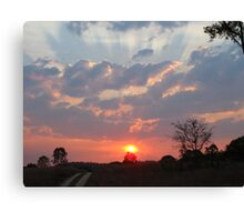 Feb 19th Sunset Canvas Print