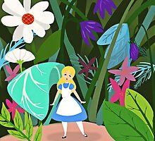 Alice in Wonderland by WDWCEC23