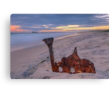 Remains of the Allenwood. Canvas Print