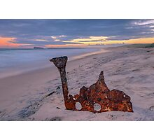 Remains of the Allenwood. Photographic Print