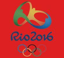 Rio De Janeiro Rio 2016 Olympics One Piece - Short Sleeve