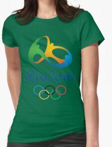Rio De Janeiro Rio 2016 Olympics Womens Fitted T-Shirt
