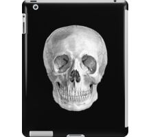 Albinus Skull 01 - Back To The Basic - Black Background iPad Case/Skin