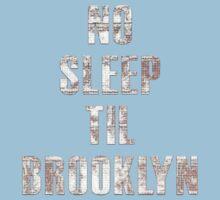 No Sleep Til Brooklyn Beastie Boys Retro Baby Tee