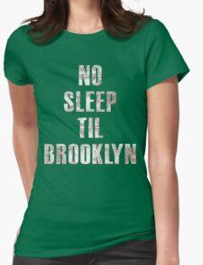 No Sleep Til Brooklyn Beastie Boys Retro Womens Fitted T-Shirt