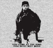 The Wire Omar Little Quote One Piece - Short Sleeve