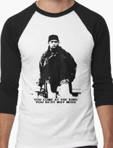The Wire Omar Little Quote Men's Baseball ¾ T-Shirt