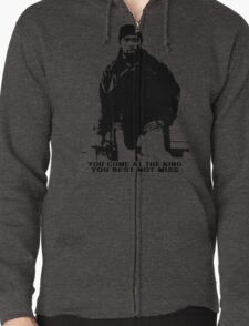 The Wire Omar Little Quote Zipped Hoodie