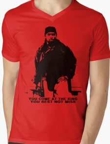 The Wire Omar Little Quote Mens V-Neck T-Shirt
