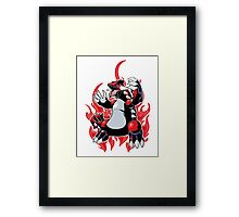 Groudon Framed Print