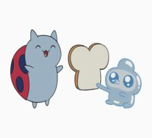 Catbug Makes A Friend (They're Having Soft Tacos Later) T-Shirt