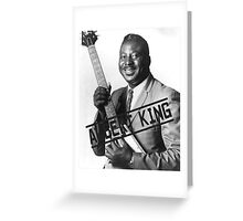 Albert King Greeting Card