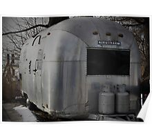 Airstream Overlander Poster