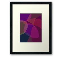 Flower Dark Framed Print
