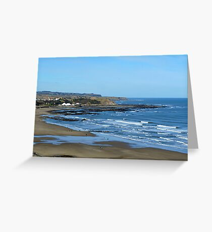 Yorkshire Coast Greeting Card