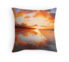 """Fiery sky II"" Throw Pillow"