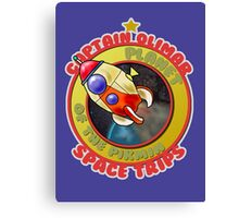 Pikmin Space Trips Canvas Print