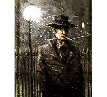 The man with a hat Photographic Print