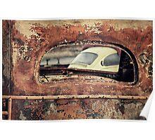 Junkyard Window Poster