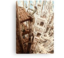 Top of the Cathedral Metal Print