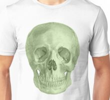 Albinus Skull 03 - Zombie Attack - White Background Unisex T-Shirt