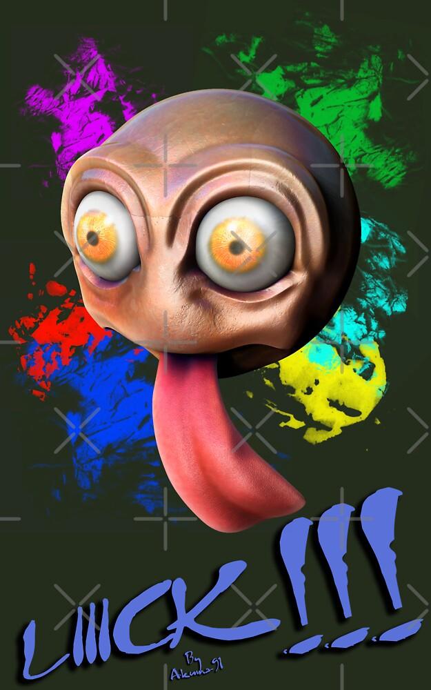 Licking Ball by Akuma91