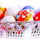 Basket full of Easter Eggs by ©The Creative  Minds