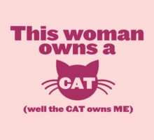 This WOMAN owns a CAT (well the cat owns ME) by jazzydevil
