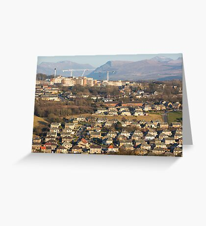 Whitehaven with The Ennerdale Valley Greeting Card