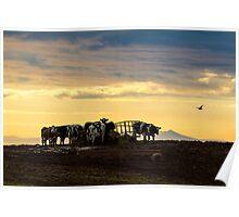 West Coast Sunset - Cumbria Poster