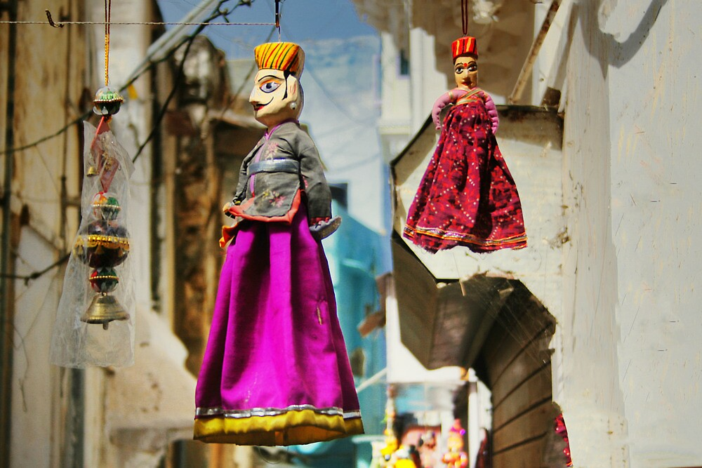 Rajasthan puppets by areyarey