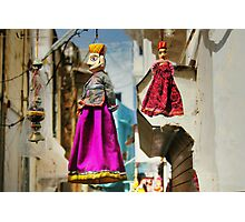Rajasthan puppets Photographic Print