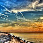Shoreline Sunset by Scott Wood