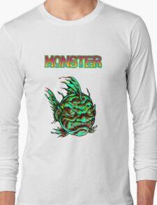 Monster Face Fish 2013 Long Sleeve T-Shirt
