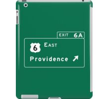 Providence, Road Sign, Rhode Island iPad Case/Skin