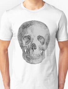Albinus Skull 04 - Never Seen Before Genius Diamonds  - White Background T-Shirt