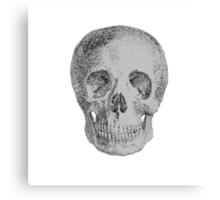 Albinus Skull 04 - Never Seen Before Genius Diamonds  - White Background Canvas Print