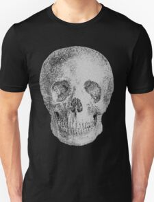 Albinus Skull 04 - Never Seen Before Genius Diamonds - Black Background T-Shirt