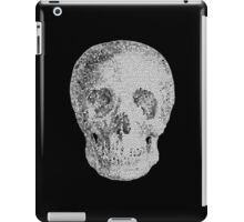 Albinus Skull 04 - Never Seen Before Genius Diamonds - Black Background iPad Case/Skin