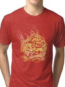 Bright Fish Face Monster 2013 Tri-blend T-Shirt