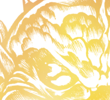 Bright Fish Face Monster 2013 Sticker