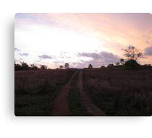 Goodnight Sunset Canvas Print