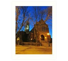 First Lutheran II Art Print