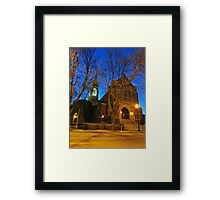 First Lutheran II Framed Print